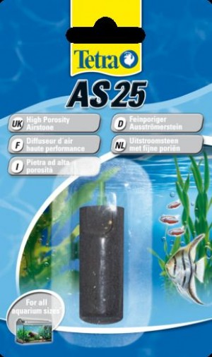 Tetra Airstone akvārija gaisa smidzinātājs AS25 25mm -