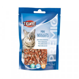 Trixie Mini Fish Nuggets gardums kaķiem ar tunci, vistu 50g